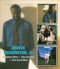 Strawberry Moon/Then and Now/Time Out of Mind by Grover Washington, Jr. (CD, Feb-2012, 2 Discs, Beat Goes On)