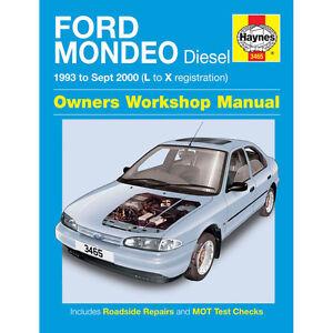 ford mondeo haynes manual 1993 00 1 8 turbo diesel workshop ebay rh ebay co uk Ford Mondeo Turnier Tuning Ford Focus Turnier
