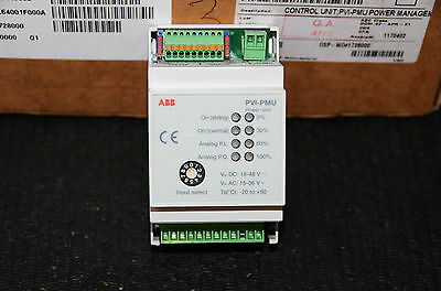 SOLAR PVI POWER MANAGEMENT CONTROL UNIT+TRANSFORMER ABB BRANDED(RRP£240)