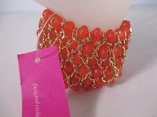 Ann Taylor Breast Cancer Awareness Sparkle Bracelet NWOT 59