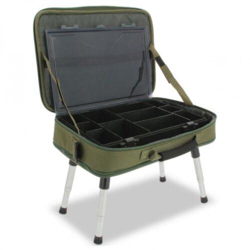 Dépend Deluxe Box Case système 612 Incl Tacklebox et Bivvy Table