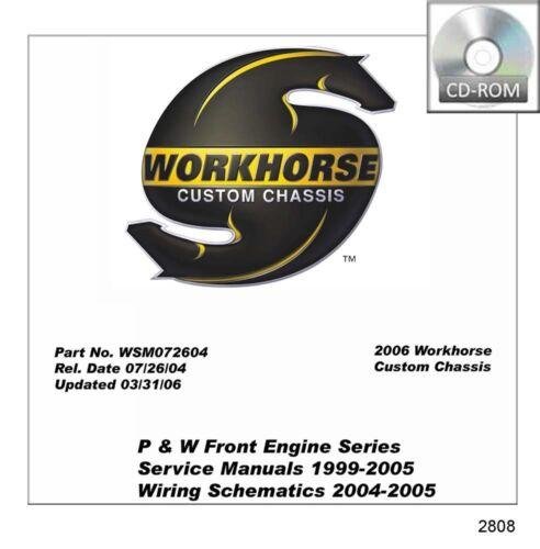 1999 2001 2003 2005 Workhorse W Series Shop Service Repair Manual ...
