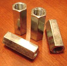 58 11x 2 18 Hex Coupling Rod Nut Zinc New