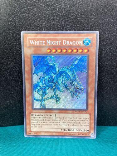 ANPR-EN092 Secret Rare YuGiOh White Night Dragon NM