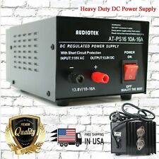 At Ps16 138v 16a Amp Heavy Duty Dc Regulated Power Supply Grade With Cable New