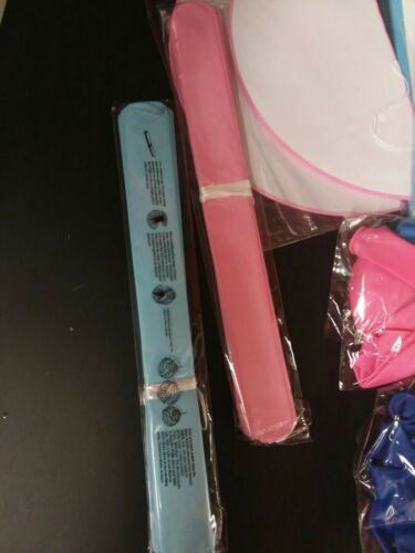 Pink// Blue Details about  /Baby Gender Reveal Party Decorations 64 pc