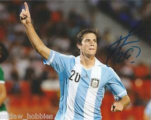 Argentina-Lucas-Melano-Autographed-Signed-8x10-Photo-COA-D