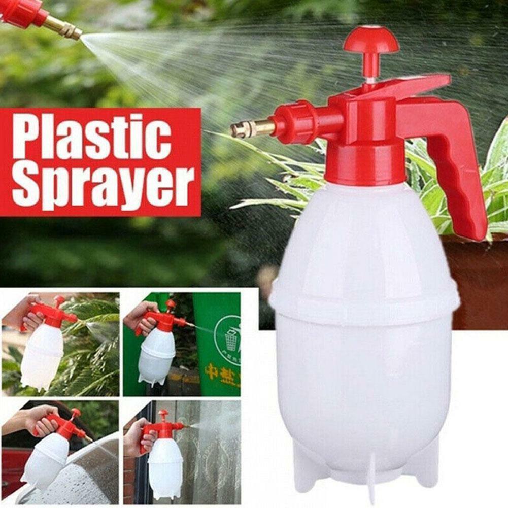 0.8L/1.5L Garden Plastic Hand Pressure Sprayer Spray Bottle Can Watering