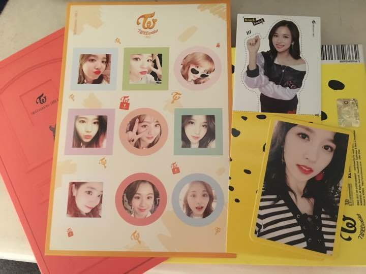 Twice coaster lane 2 Signed CD with trasca stand rare from JAPAN free shipping