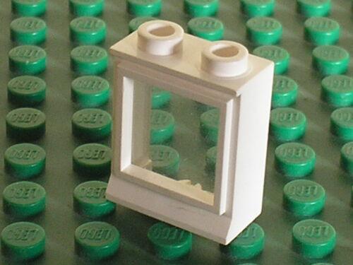 White Window LEGO vintage fenetre 3081cc01 //set 343 4554 343 2150 148 365 364...