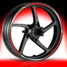 Adesivi moto DUCATI 1098 - strisce RACING 4 cerchi ruote wheels stickers
