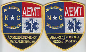 New Jersey EMT 2 Full Color Regular patches Emergency Medical Technician NJ