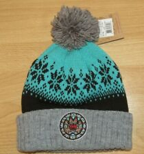 Mitchell /& Ness Vancouver Grizzlies NBA Speckled Cuffed Knit Hat w//Pom