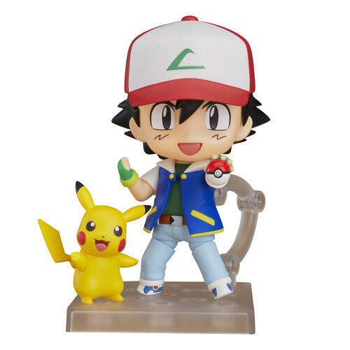 Pokemon - Ash & Pikachu Nendoroid Figura de Acción  800 Good Smile