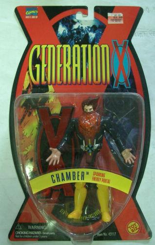 MARVEL GENERATION X TOYBIZ CHAMBER 1995 SELTENE MOC