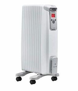 EvoRad Radiateur Eco 15 W, chauffage mobile avec roulettes, chauffage électriqu