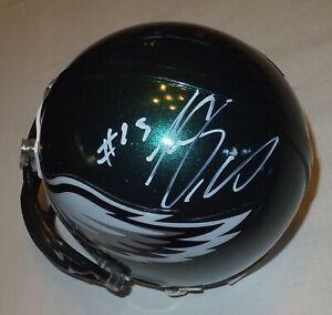 Details about LESEAN MCCOY Eagles Autographed Mini Helmet including BDS COA #2063