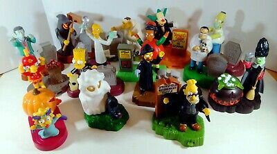 2001 Simpsons Spooky Light Ups #4 Mr Burns Figure Burger King Toy Unopened