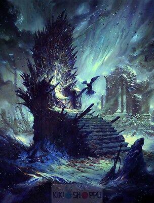 Little Finger Throne Game Of Thrones Serie Poster A3 Juego de Tronos Meñique