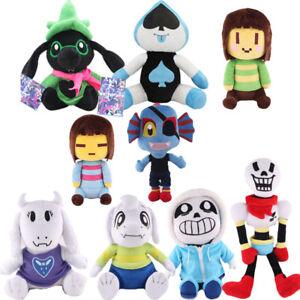 Deltarune-Undertale-Lancer-Ralsei-Asriel-Plush-Figure-Toy-Soft-Stuffed-Doll