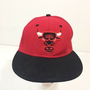 823a4c3ecc2 Image is loading CHICAGO-BULLS-Mitchell-and-Ness-Red-Hardwood-Classics-