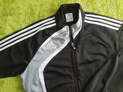 Adidas Trainingsjacke/sportjacke - Schwarz- Neu - Größe 42/44 Wir Nehmen Kunden Als Unsere GöTter