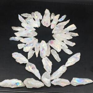 100g-A-Lot-Titanium-Rainbow-Aura-Lemurian-Quartz-Crystal-Point-Healing-5-20Pcs