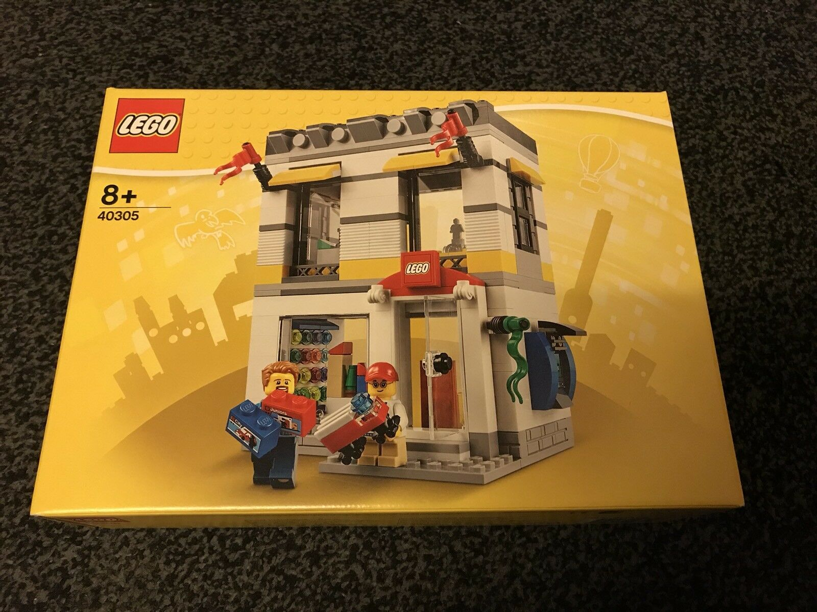 LEGO STORE SHOP BUILDING BRAND 40305 HARD TO FIND NEW GENUINE 2018 MINI FIGURE