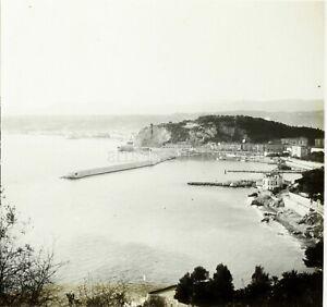 FRANCE-Nice-Photo-Stereo-Grande-Plaque-Verre-vers-1890