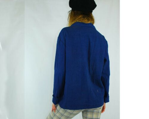 All Sizes 8 10 12 14 16 18 20 VINTAGE Unisex French EU Work Chore Jackets