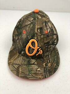 low priced c5860 8099a Image is loading Baltimore-Orioles-New-Era-Hat-Cap-Snapback-Camouflage-
