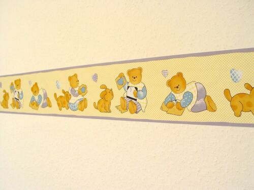 d-c-fix selbstklebende Bordüre Border 10m x 10,6cm Kindermotiv Teddybär F2732083