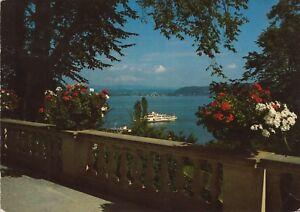 Insel Mainau im Bodensee , ,Ansichtskarte, beschriftet - Rostock, Deutschland - Insel Mainau im Bodensee , ,Ansichtskarte, beschriftet - Rostock, Deutschland