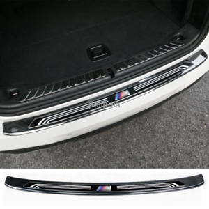 Steel Outer Rear Bumper Protector Plate Trunk Sill Cover for BMW X3 G01 2018-19