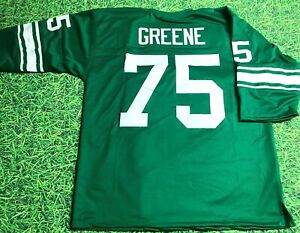 JOE GREENE CUSTOM NORTH TEXAS STATE MEAN GREEN JERSEY READ   eBay