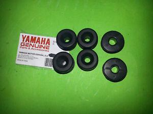 Yamaha-Dt250-Dt400-DT-MX-Cubierta-Lateral-Tapa-Conjunto-Goma-Apagador