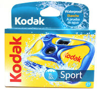 5 Kodak Sport One Time Use Underwater Disposable Waterproof Camera 27 01/2017