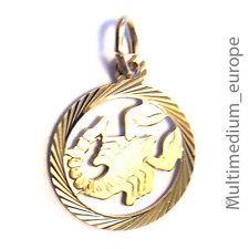 8kt Gold Anhänger Sternzeichen Skorpion zodiac pendant scorpio 333