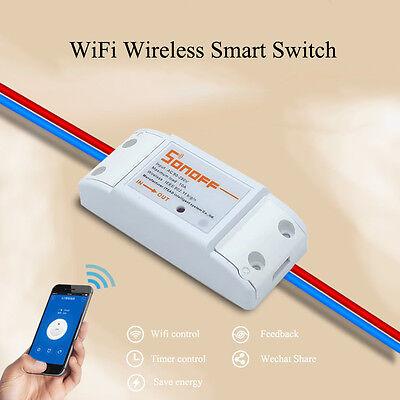 433Mhz RF Sonoff ITEAD WiFi Wireless Smart Switch Module Shell Socket ReceiverXZ
