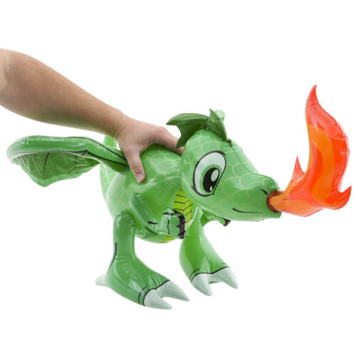 30/'/' Friendly Fire Green Dragons Inflatable Inflate Party Decoration Set of 2