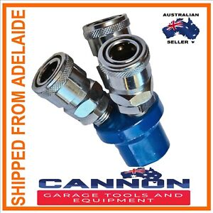 NITTO-3-WAY-Y-AIR-FITTING-FOR-COMPRESSOR-AIR-LINE-1-4-BSP-CANNON-TOOLS-ADELAIDE