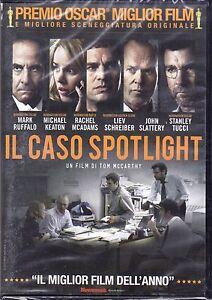 Dvd-IL-CASO-SPOTLIGHT-con-Michael-Keaton-nuovo-2016