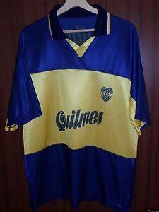 3203bd41d39d4 A imagem está carregando Boca-Juniors-Tamanho-G-Ac-Jersey-de-Futebol-