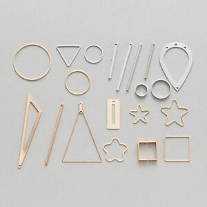 10-Piece-Copper-Charms-Pendants-Earring-Findings-Jewelry-Making-10-50mm