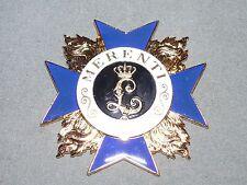 Bayerischer Millitär Verdienst Orden 1866 Bayern - Replika - 82,4g - 71mm