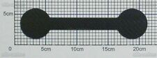 1,5mm Carbon Platte Kohlefaser CFK Platte Länge ca. 203mm