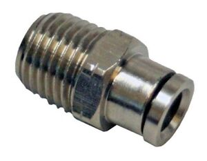 Push To Connect Fittings >> Details About Push To Connect Fittings Pneumatic 1 4 To 1 8 Fitting 6096 Push To Connect