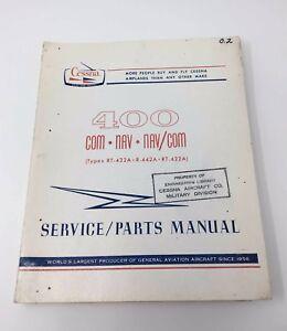 cessna 400 com nav nav com service parts manual type rt 432a r 442a rh ebay com Cessna 170 Parts Manual Cessna 150 Parts Manual