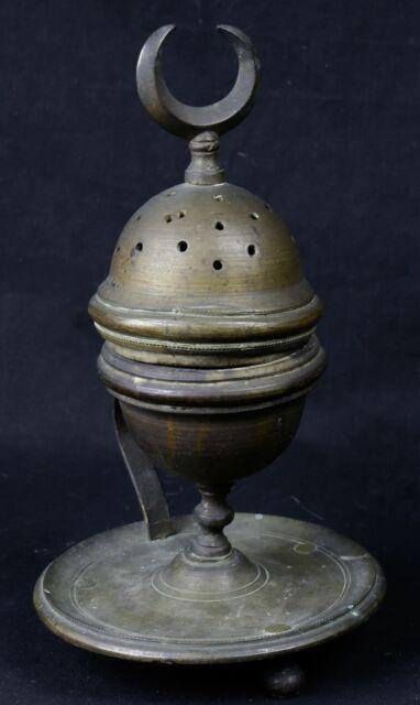 Antique Burns Perfume Oriental Bronze Religion Islam Mosque Muslim