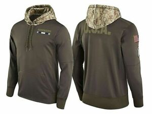 buy online d8833 3ecb5 NFL Dallas Cowboys Men's Olive Salute to Service Sideline Pullover Hoodie  2xl
